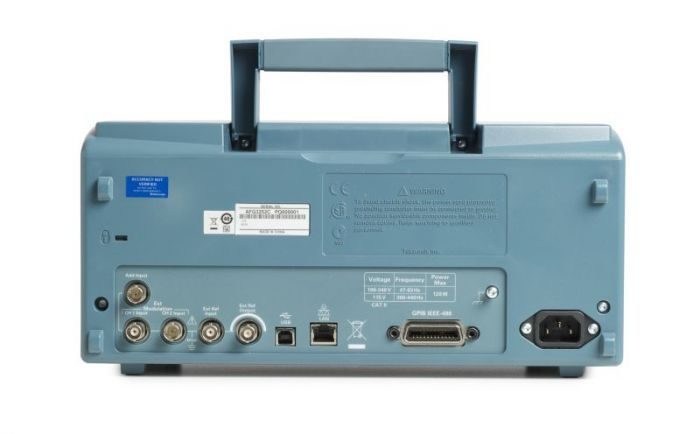 Tektronix AFG3022C (Back)