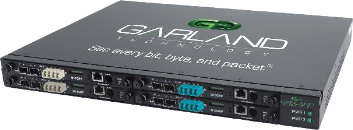 10G-1U Modular Bypass Network TAP System