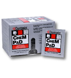 Chempad™ Presaturated Wipe