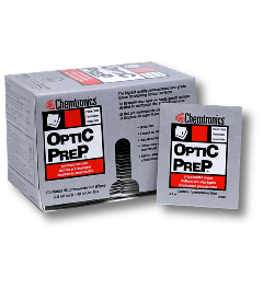 Optic Prep™ Presaturated Wipe