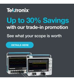 Oscilloscope Trade-in Promotion