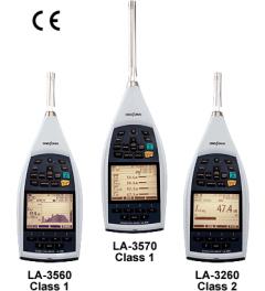 LA-3000 series High Function Sound Level Meters