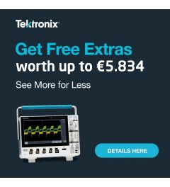Receive FREE OPTIONS when you purchase our NEW 3 Series oscilloscope! Savings of up to 62%!