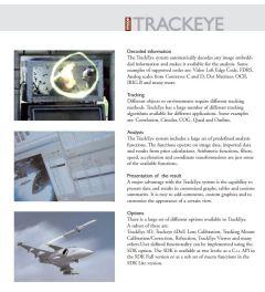 Track Eye Analysis Software.